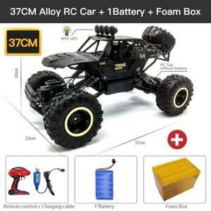 Remote Control Cars 2.4Ghz Electric Monster Truck Off-Road RC Car 1/12, 1/16 4WD