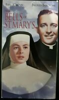 The Bells of St. Mary's (1945) - VHS Tape - Drama-Bing Crosby-Ingrid Bergman