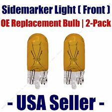 Sidemarker (Front) Light Bulb 2pk - Fits Listed Cadillac Vehicles - 194A