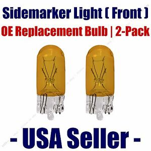 Sidemarker (Front) Light Bulb 2pk - Fits Listed Asuna Vehicles - 194A