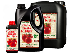 Green Future Concentrated Organic Tomato Plant Food Feed Fertiliser Compost 2&5L