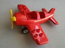 LEGO Duplo Flugzeug Propellerflugzeug Propeller rot gelb 5592