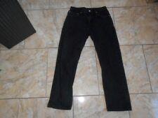 H2371 Levis 505 REGULAR Fit Straight Leg Jeans W33 Anthrazit  mit Mängeln