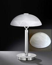 Lampen Leuchten Ersatz Glas Schirm Wofi 1360 Bristol alabaster weiß Ø 25cm
