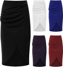 Knee-Length Machine Washable Mini Skirts for Women