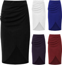 Summer/Beach Solid Regular Size Skirts for Women