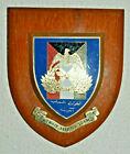 Vintage Kuwait Liaison Team regimental mess wall plaque shield