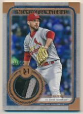 2019 Topps Museum Coll Meaningful Material Relics Copper #AW Adam Wainwright/35