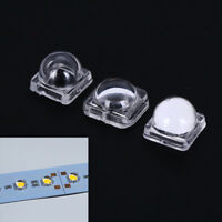 50pcs led lens for 5050smd 30 60 120 degree convex optical lens In CA