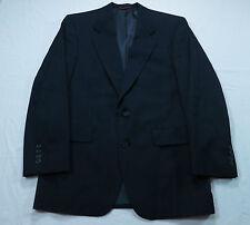 Hart Schaffner Marx Mens Blue Pinstripe Wool Blazer Sz 40 Suit Coat Jacket VTG