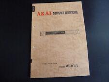 ORIGINALI service manual AKAI at-a1/l