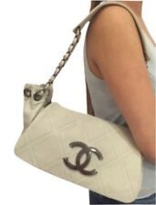 Chanel Diamond Stitch Accordian Flap Bag Black