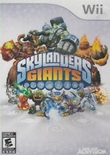 Skylanders Giants (Nintendo Wii, VIDEO GAME ONLY NO PORTALS) LN WITH MANUAL