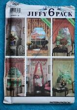 #7946 SIMPLICITY Sewing PATTERN- DESIGN YOUR WINDOWS-Curtains-Swags-Tails NEW.