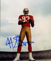 JJ Stokes San Francisco 49ers Autographed  NFL 8x10 Photo  (FB-202)
