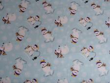 """Pack N Play Cover/Flannel/ Large (27X39"""") - Ice Skating And Fishing Polar Bears"""