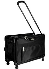 "Tutto 17"" Collapsible Small Regulation Carry-On Luggage 4017BCO (Black) NEW"