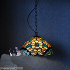 !!Rural Style 1*Light Colorful Glass/Coloured Glaze/Iron Droplight/Hanging Lamp