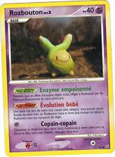 Pokémon n° 33/100 - ROZBOUTON niveau 8 - PV40