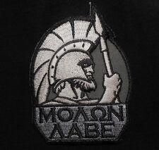 MOLON LABE SPARTAN TACTICAL WARRIOR 300 LAMBDA SWAT VELCRO® BRAND FASTENER PATCH