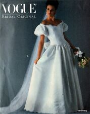 Vogue 2933 Misses' Wedding Dress Bridal Gown & Petticoat Pattern Sz 6-8-10