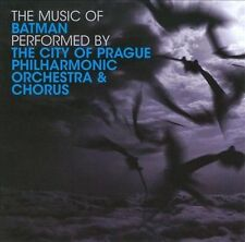 The Music of Batman by City of Prague Philharmonic Orchestra (CD, Mar-2009, Sil…