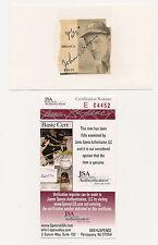 John Broaca Autograph Small Magazine Photo Yankees 1934 D-85 COA RARE GEM!!