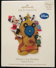 New listing 2012 Hallmark - Mickey'S Toy Machine - Disney - Mickey Mouse -Magic - Mib