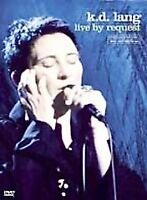 K.D. Lang - Live by Request (DVD, 2001) DISC ONLY - NO COVER ART
