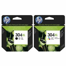 HP 304XL Black and Colour Ink Cartridges - Long Expiry Dates