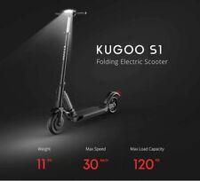 Kugoo S1 E-scooter Folding Electric Scooter UK Seller 30km - 350W Motor LCD