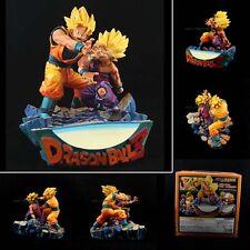 DRAGON BALL Kai Z DBZ Father son Goku Gokou Gohan Kamehameha Resin figure Battle