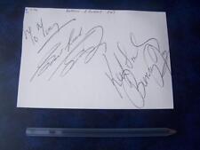 Gordon & Bunny Jay  Autograph (J1)