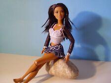 Unbespielt,Barbie Fashionistas mit Gelenkkörper Cali,Latina