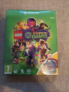 LEGO DC SUPER VILLAINS XBOX ONE NEW AND SEALED INCLUDES LEX LUTHOR FIGURE