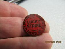 Awesome Antique Rare Tobacco Chew Cigarette Tag Tin Lucky Strike Patterson (20k2