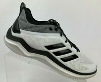Adidas Speed Trainer 4 CG5134 Turf Baseball Shoes White Black Men's Size