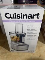 Brand New! Cuisinart Elemental 8 Cup Food Processor, Silver (FP-8SV)