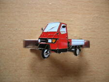 Pince à Cravate Vespa Piaggio Ape 50 Rouge Art. 1141 Dreirad (Tricycle) Moto