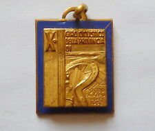 DISTINTIVO GIRO CICLISMO REGGIO CALABRIA 1952 BICI BICICLETTA