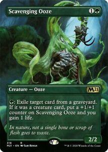 Scavenging Ooze (Borderless Extended Art) (M21) MTG RARE Card