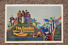 Beatles Yellow Submarine Lobby Card Poster #3