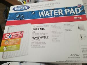 BestAir Replacement Humidifier Filter Water Pad Elite A35W Honeywell Aprilaire