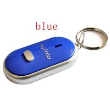 LED Anti-Lost Key Finder Locator Find Key Chain Key Ring Whistle Sound Control.