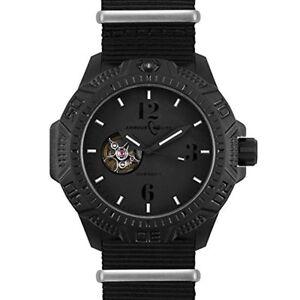 Armourlite Caliber Series Blackout Automatic Watch Nylon Band AL1204