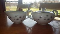Platinum Star Burst Sugar creamer set by CREATIVE 3pcs Hostess Pieces