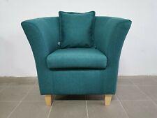 Wingback Armchair Fire & Dirt Resistant Seat Modern Scandinavian Style Chair New