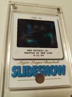 1994 Donruss Ken Griffey Jr. Slideshow Leaf 94 Card #9 of 10 HOF