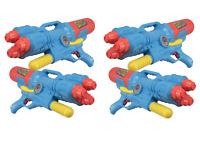 4 x Water Guns Giant 60cm Mega Triple Shooter Pump Action Soaker Battle Toys 922
