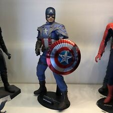 CAPTAIN AMERICA FIRST AVENGER HOT TOYS 1/6 SCALE MMS156 COLLECTABLE FIGURE